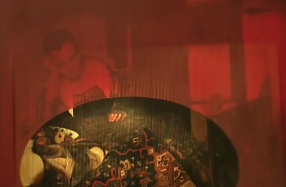 Vermeer ve Anadolu Halısı No III, Tuv.Üz.Karışık Teknik, 2012