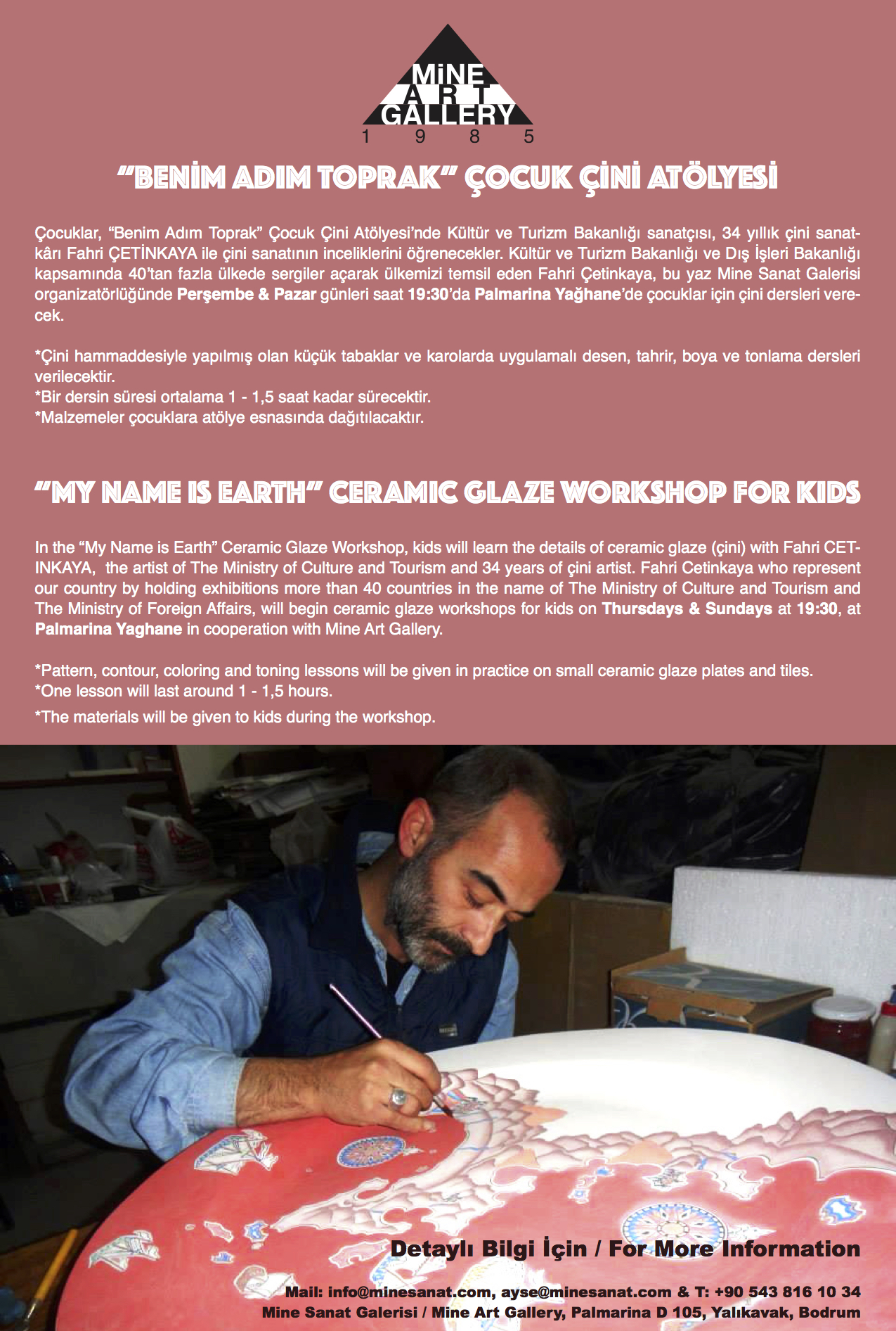 çini workshop